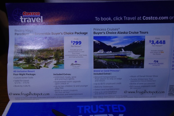 Costco Coupon Book: December 30, 2014 - January 25, 2015. Travel 2