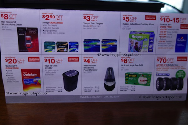 Page 3. Costco Coupon Book: December 30, 2014 - January 25, 2015