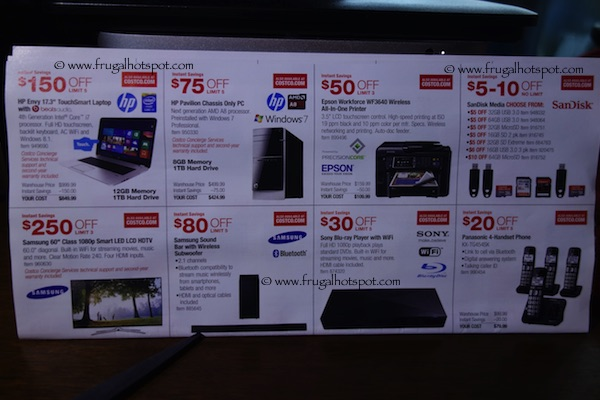 Page 4. Costco Coupon Book: December 30, 2014 - January 25, 2015