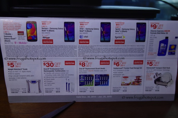 Page 5. Costco Coupon Book: December 30, 2014 - January 25, 2015.