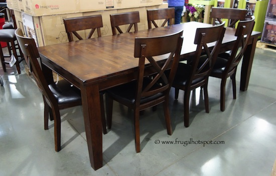 costco: intercon heritage brands sonoma 9-piece dining set