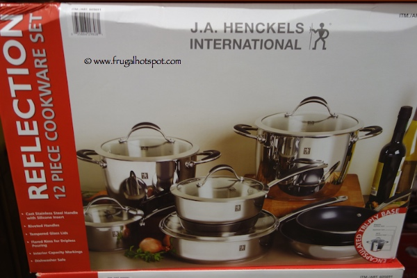 Costco Sale J A Henckels 12 Piece Reflection Stainless