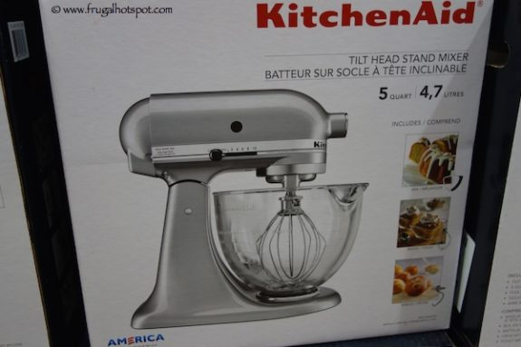 KitchenAid 5 Quart Tilt Head Stand Mixer With Glass Bowl at Costco