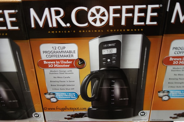 Mr. Coffee 12 Cup Coffee Maker Costco