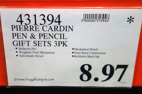 Pierre Cardin Pen & Pencil Gift Sets 3-Pack Costco Price
