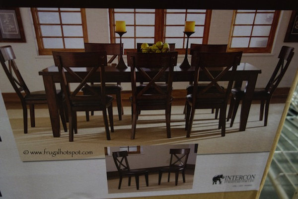 intercon heritage brands sonoma 9 piece dining set costco