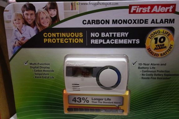 First Alert 10-Year Carbon Monoxide Alarm at Costco