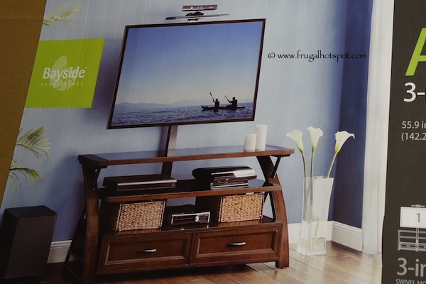 Costco Bayside Furnishings Ario 56 Quot 3 In 1 Tv Stand