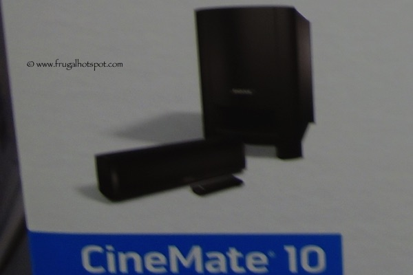 Bose Cinemate 10 Digital Home Theater System Costco