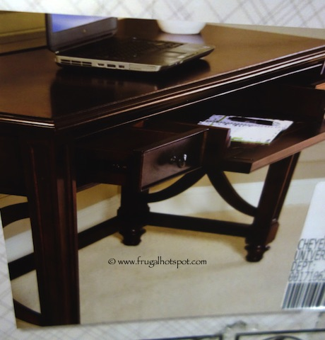bayside desk costco power writing youtube w outlets watch