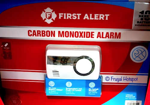 First Alert 10-Year Carbon Monoxide Alarm Costco