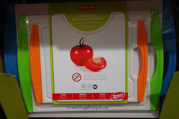 Neoflam Nonslip Antibacterial Cutting Board 3-Pack Costco