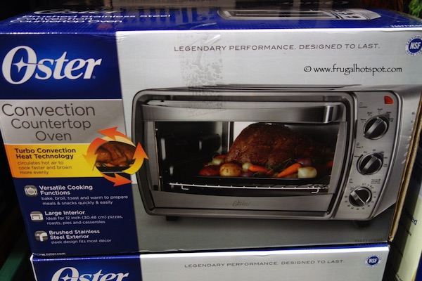 Costco Sale Oster Stainless Steel Toaster Oven TSSTTVCG03