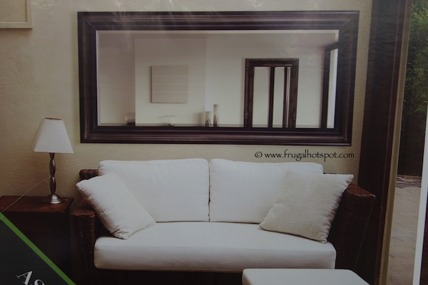 Ren Wil Full Length Mirror with Solid Wood Frame Aspen Costco