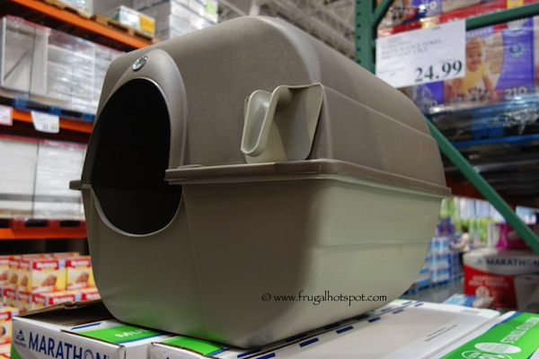 Omega Paw Roll'n Clean Self-Cleaning Litter Box Costco