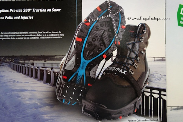 SnowTrax Winter Traction Device for Footwear Costco