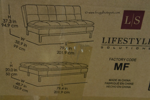 Lifestyle Solutions Vienna Euro Lounger Costco