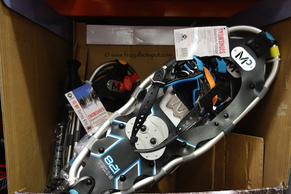 Yukon Charlie's Snowshoe Kit with Poles & Gear Bag Costco