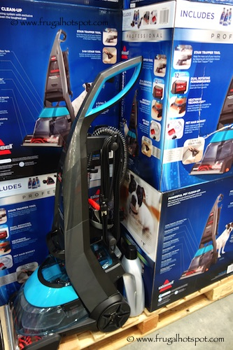 bissell deepclean proheat 2x pet carpet u0026 upholstery vacuum cleaner costco - Bissell Pet Carpet Cleaner