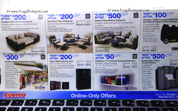Page 16. Costco Coupon Book: March 5, 2015 - March 29, 2015.
