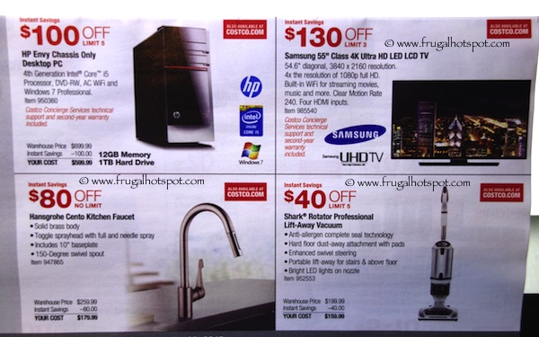 Page 2. Costco Coupon Book: March 5, 2015 - March 29, 2015.