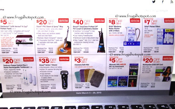 Page 6. Costco Coupon Book: March 5, 2015 - March 29, 2015.