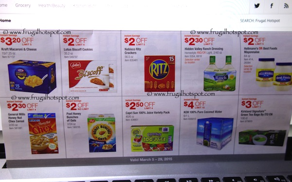 Page 8. Costco Coupon Book: March 5, 2015 - March 29, 2015.