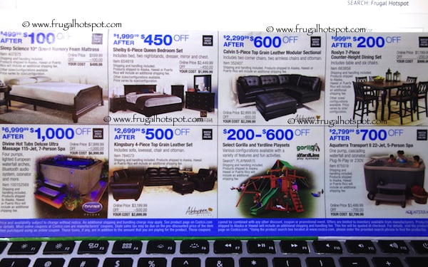 Page 18. Costco Coupon Book: March 5, 2015 - March 29, 2015.