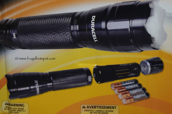 Costco Sale Duracell Led Flashlights 300 Lumens 3 Pack