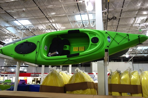 Equinox 10.4 Sit In Kayak with Paddle Costco