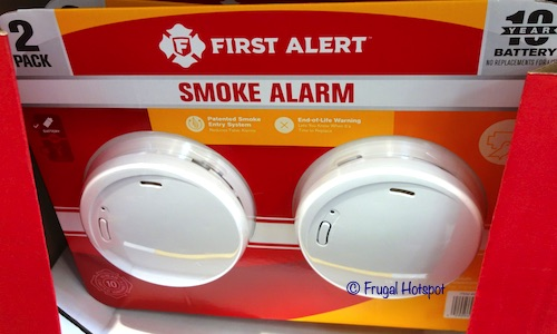 First Alert Photoelectric Smoke & Fire Alarm 2-Pack Costco