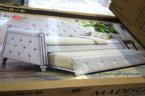 Costco Pulaski Furniture Madison Upholstered Daybed