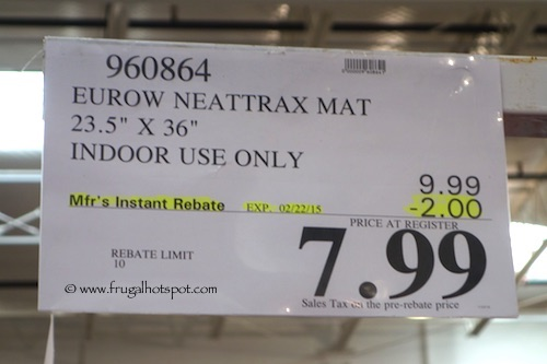 Costco Sale Neattrax Super Absorbent Floor Mat Frugal