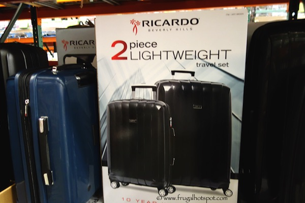 87ca1d613 Costco Sale: Ricardo Beverly Hills 2-Piece Hardside Spinner Travel ...