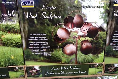 Style Craft Kinetic Wind Sculpture Costco