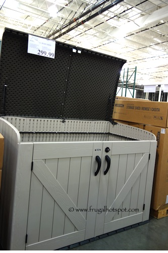 Costco Lifetime Horizontal Storage Shed Frugal Hotspot