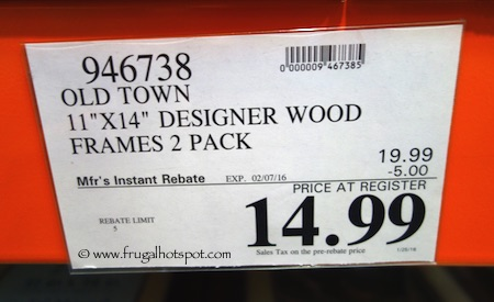 Costco Sale: Old Town 11\