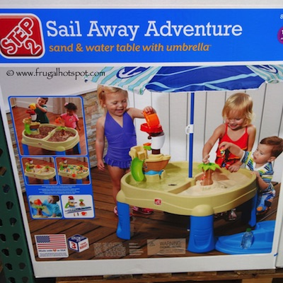 Step 2 Sail Away Adventure Sand & Water Table Costco