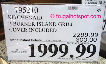 KitchenAid 7-Burner Island Grill Costco Price | Frugal Hotspot