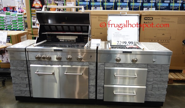 KitchenAid 7 Burner Island Grill Costco | Frugal Hotspot