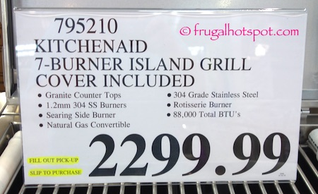Costco Sale Kitchenaid 7 Burner Island Grill 1 999 99