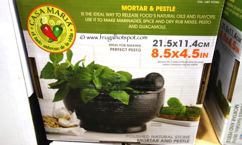 Casa Maria Mortar & Pestle Costco
