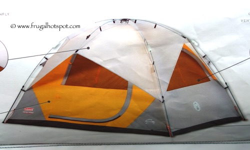 Coleman 5 Person Instant Dome Tent Costco  sc 1 st  Frugal Hotspot & Costco Sale: Coleman 5-Person Instant Dome Tent $59.99 | Frugal ...