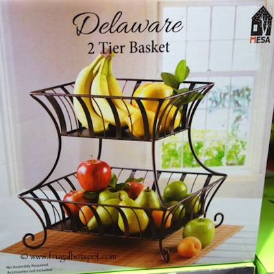 Mesa Delaware 2 Tier Basket Costco