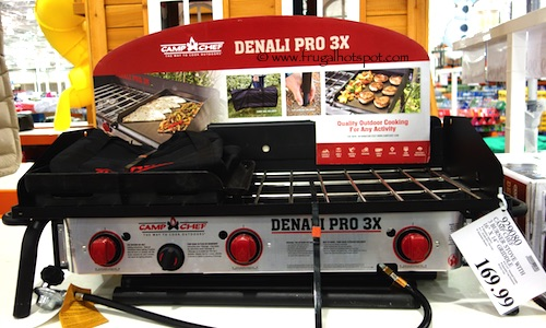 Camp Chef Denali Pro 3X Outdoor Stove with Griddle Costco Price
