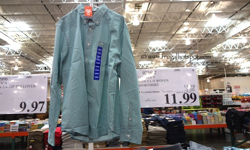 Docker's Men's Long Sleeve Woven Shirt Costco Price