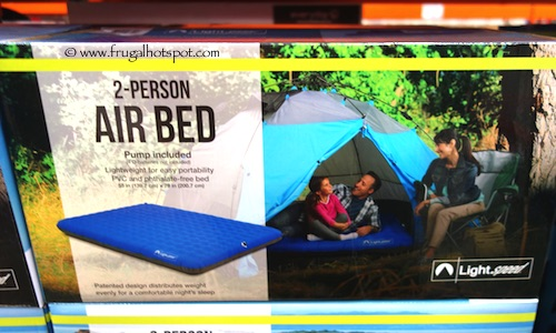 Lightspeed 2-Person Air Bed with Pump Costco