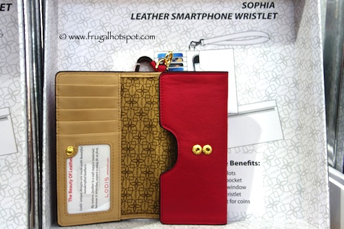 Lodis Sophia Leather Smartphone Wristlet Costco