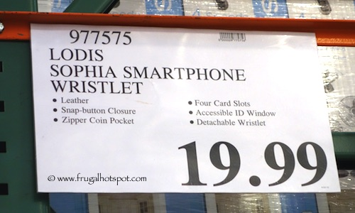 Lodis Sophia Leather Smartphone Wristlet Costco Price