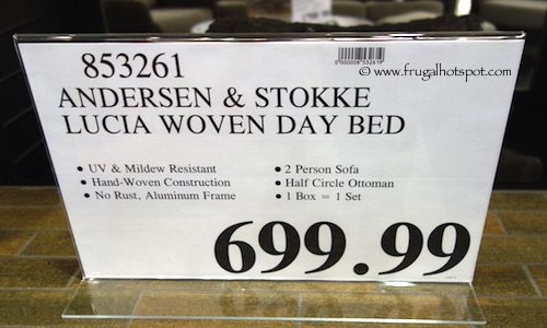 Anderson & Stokke Lucia Woven Day Bed Costco Price